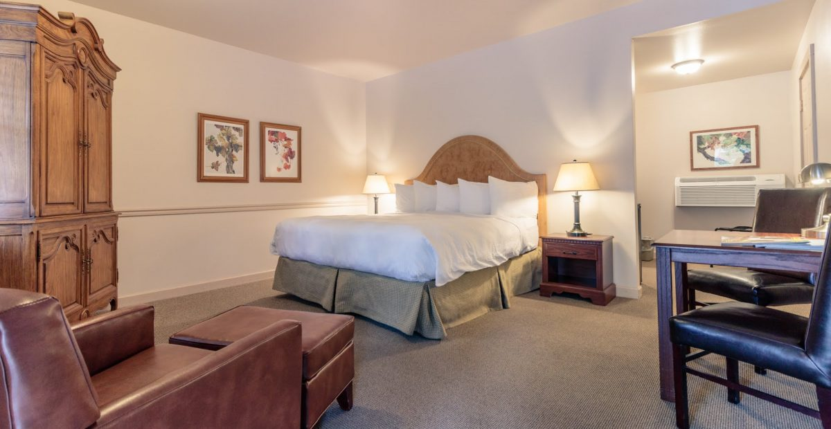 Our Standard Rooms are light and bright